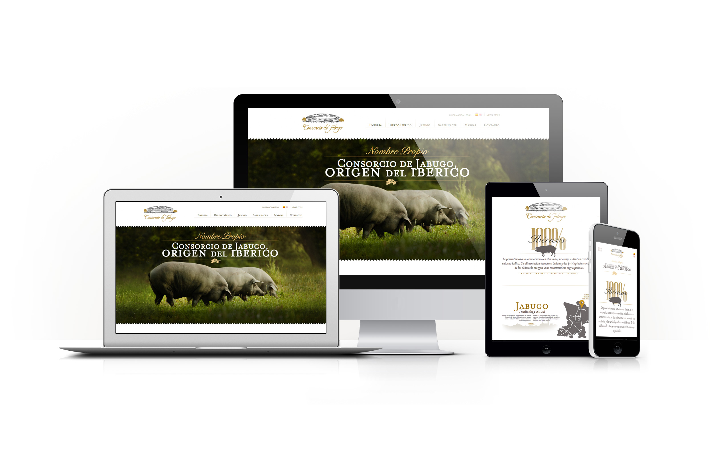 Web Consorcio de Jabugo