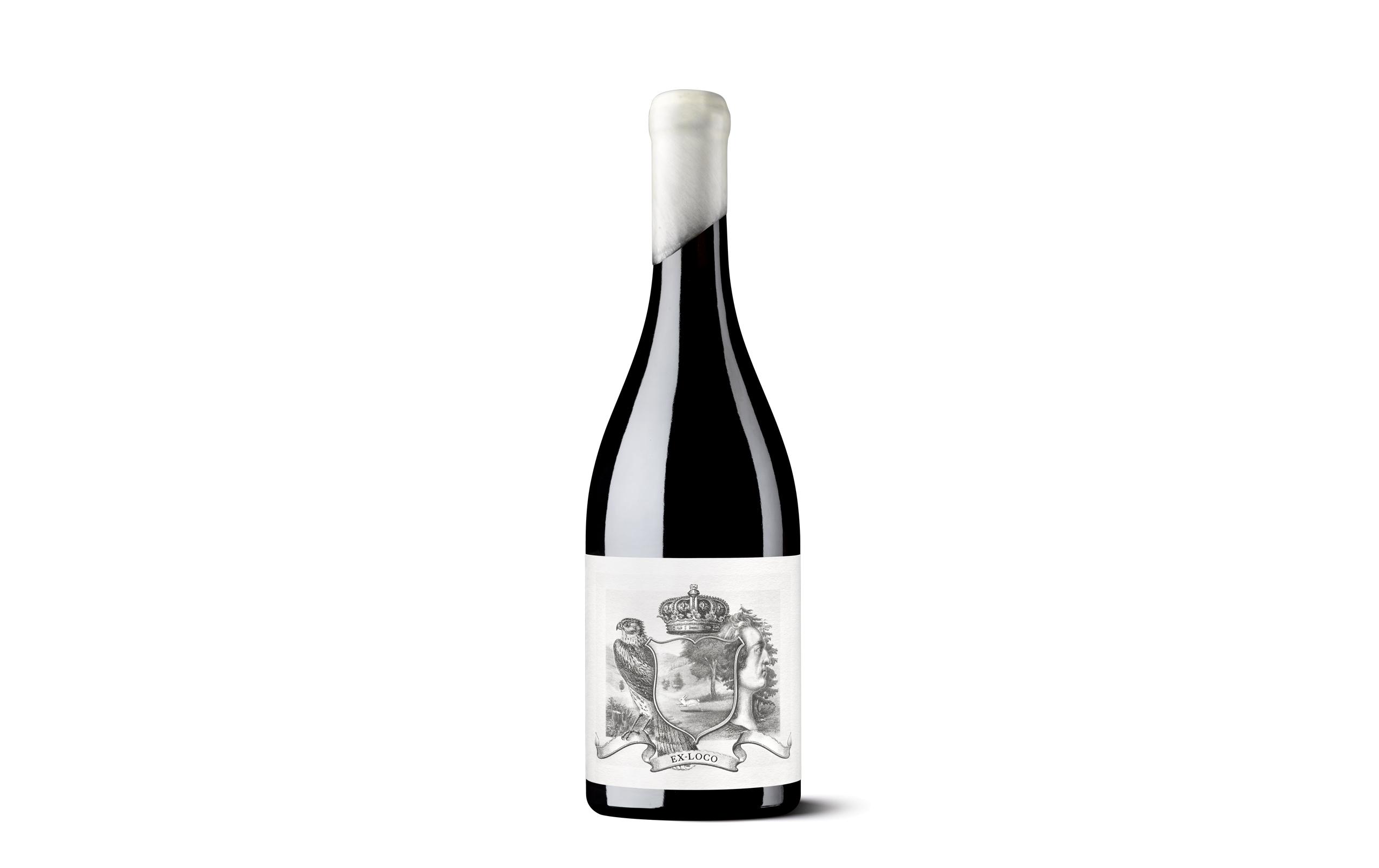 Etiqueta Ex-Loco para packaging de vino