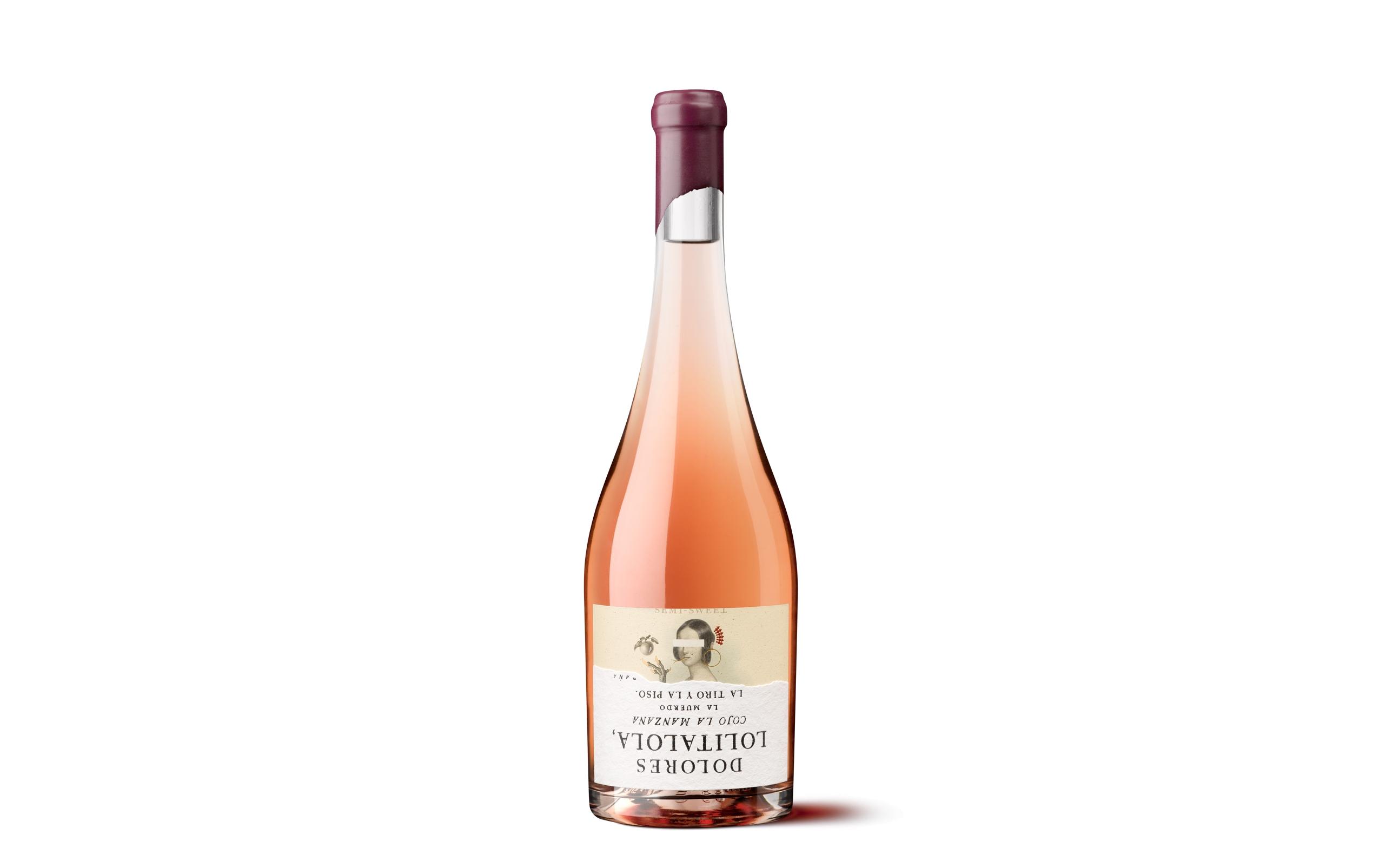 Etiqueta Lust de packaging de vino