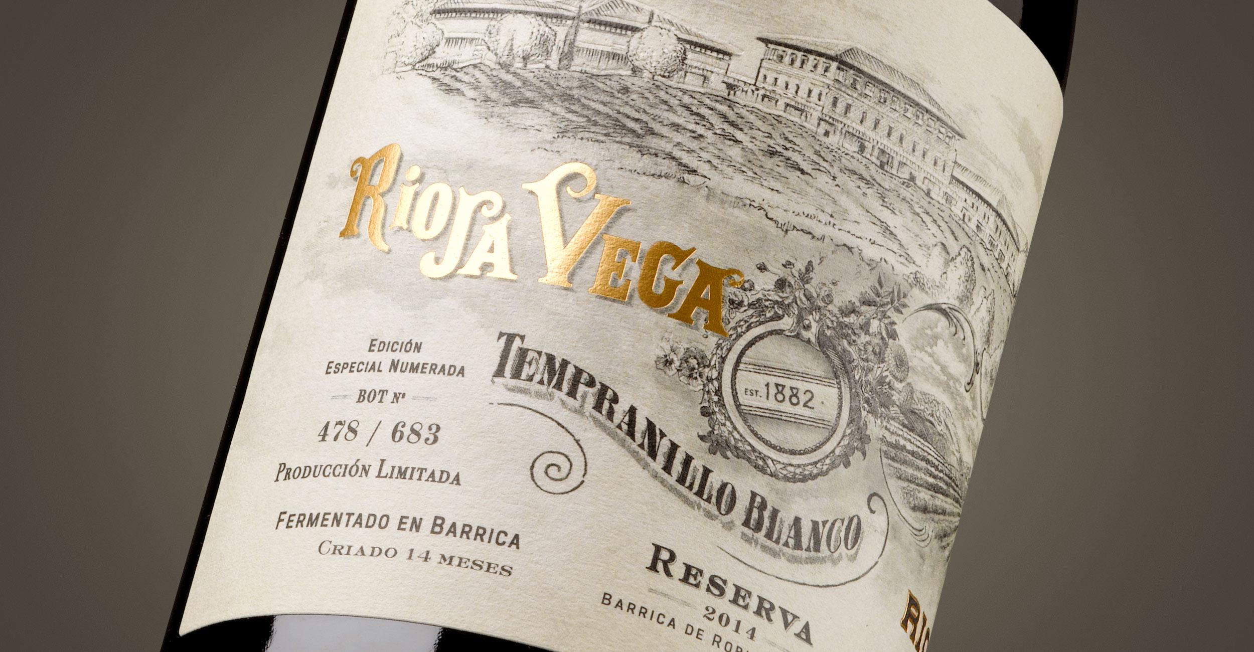 Rioja Vega Tempranillo Blanco Reserva